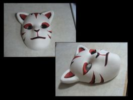 Anbu cosplay mask by kittykaya