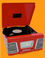 Record Player by musicisnotmisery