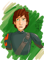 Hiccup Haddock by nerdy-cal