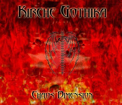 Kirche Gothika - Chaos Dimension album art (2013) by PrimeWeekle