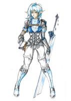 Character Concept Paladin by CrazyAsian1