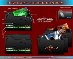 new Game Folder Concept by 3xhumed