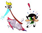 Psycho Bubbles chases Buttercup by transformers3roxCB