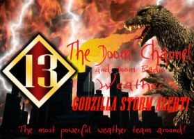 School Project - Godzilla Weather by Sushiopolis
