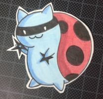 Ninja Catbug ~ by HokinaCosplay