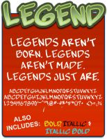 Legend by shonenpunk