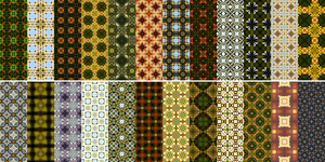 50 mixed-color Patterns100-120-150