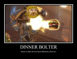 Dinner bolter by userup