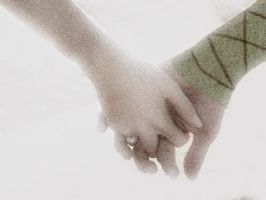 Hiccup and Bevin Hand Holding by Aaiero
