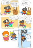 Captain Gombo: page 2 by dalmation10k