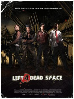 Left 4 Dead Space Poster by RamonImbao