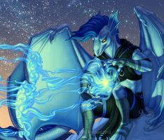 Dispel The Darkness - Detail by Shadow-Wolf