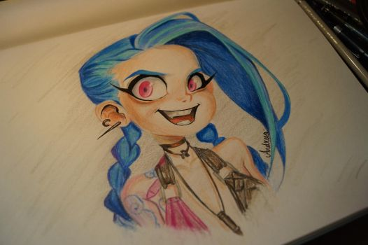 Jinx it! by Milkywayxo