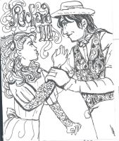 Richard III and Anne (WIP, old) by theterriblezodin