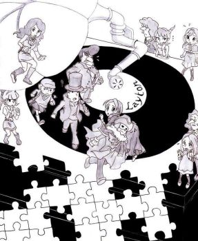 Professor Layton - The rescue of the eternal diva by Blychee