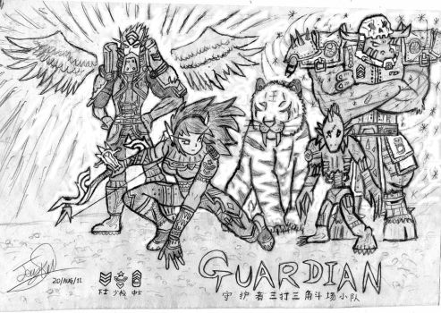 Guardian Team by Noacuracy