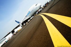 Airbus 380 by brianop87
