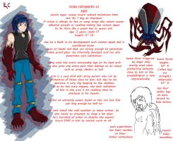 chaos experiment arch fact sheet. by flerna