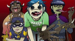 group art GORILLAZ by specter-fangal