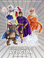 Guardians Of Religion by anouki-morgenstern