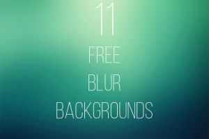 11 FREE Blur Backgrounds by Freezeron
