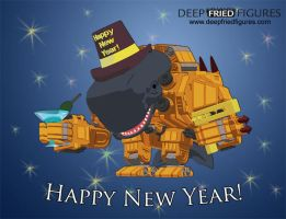 Deep Fried Figures Happy New Year Graphic by hauke3000