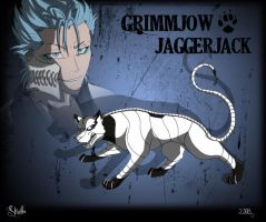 Grimmjow Adjucha Poster by Skailla