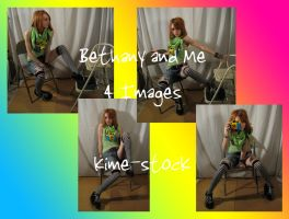 Bethany and Me 5 by kime-stock