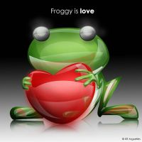 Froggy is love by candyworx