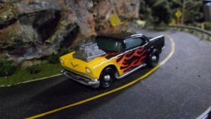 Scorched '57 Chevy by hankypanky68