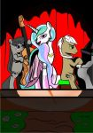 Princess Celestia Singing by Jakrat-Rosemberd