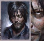 Daryl / Norman Reedus - The Walking Dead by SigmaK