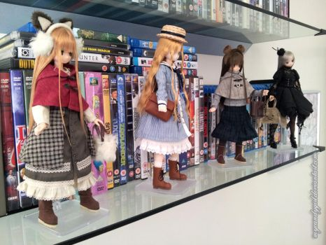 My Azone Collection by MyCandyGirl