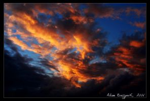 Fire in the sky by Ildefonse