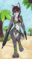 ((PINUP WEEK and TRADE) Beach Patrol by Specter1099