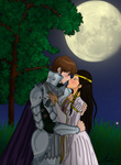 A Lady and Her Knight by AnaPaulaDBZ