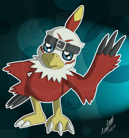 Hawkmon by TussenSessan
