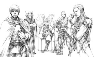 150 strong - pencils by Gido