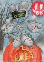 BOO ... Happy Halloween by Pokemon-Chick-1
