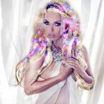 Her hair was made of jewels and magic by LadyDarknessDarkling