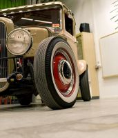 4BNGR Ford, model A by Poissett