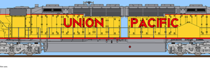 Union Pacific DDA40X 6900 by o484