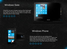 Windows slate and windows phone concept by RsrMusic