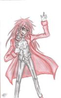 Grell Doodle by CR0WARD