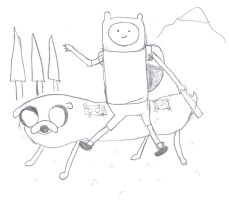Back to School with Finn and Jake by 04StartyOnlineBC88