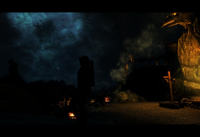 Skyrim Screenshot 2 by 0Snow-White0