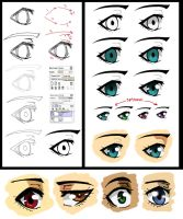 How i do my eyes 2 by Dirkajek144