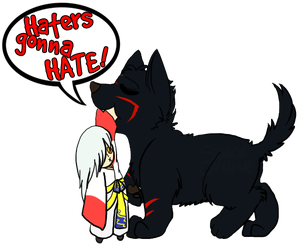 HatersGonnaHate-SpaceK9-Trans by TaishoBee