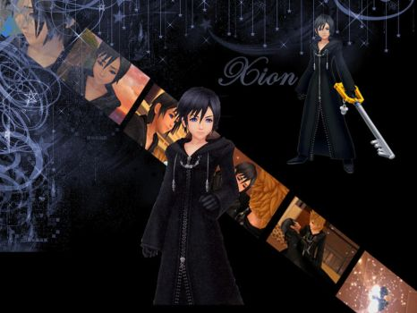 Kingdom Hearts Xion by LumenArtist