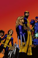 Wolverine and the X-men by firepunk626